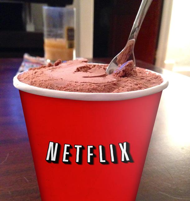 Netflix binging