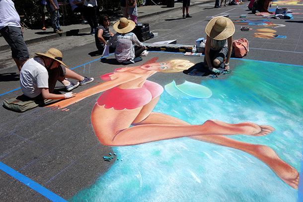 Italian Street Painting Marin (23)