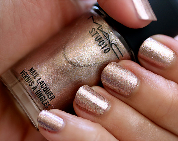MAC Studio Nail Lacquer in Soiree Swatch