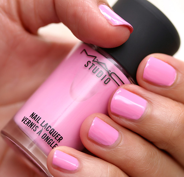 Mac Rain Of Flowers Nail Polish - Creative Touch