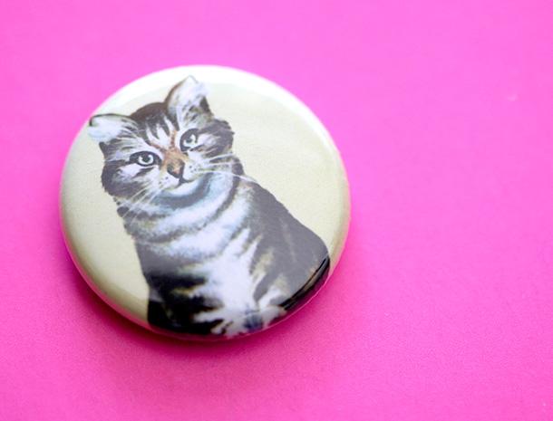 Tabby Cat Pin (1)