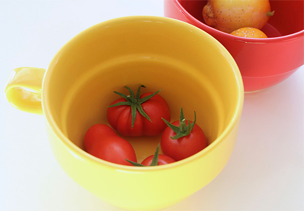 Tomatoes and Lemon Cucumbers (4)