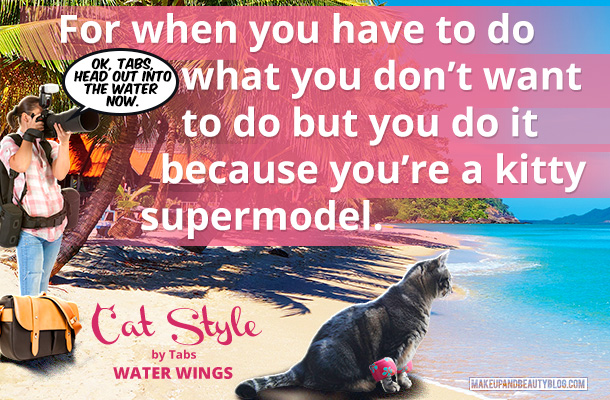 Tabs the Cat for Cat Style Water Wings