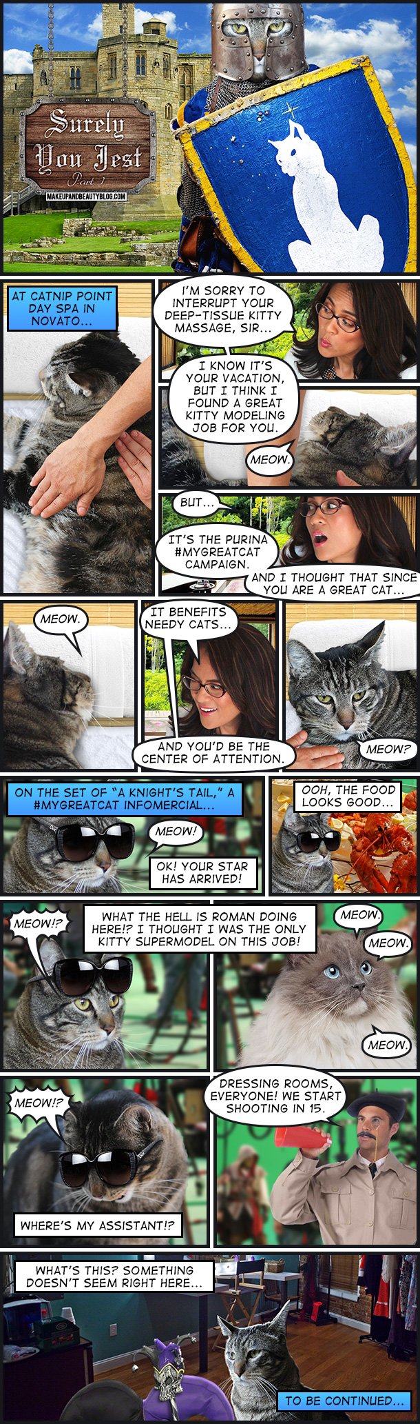 A Tabs the Cat Comic, Surely You Jest, Part 1
