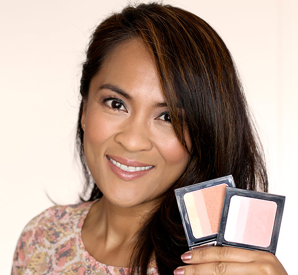 With the two new Bobbi Brown Brightening Blushes from the new Surf & Sand summer collection