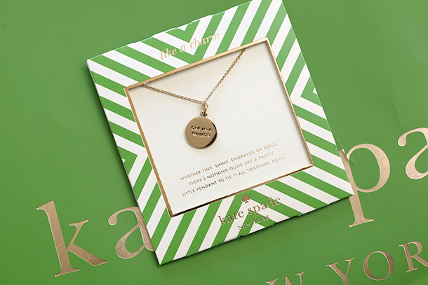 Kate Spade One in a Million Initial Pendant Necklace (5)