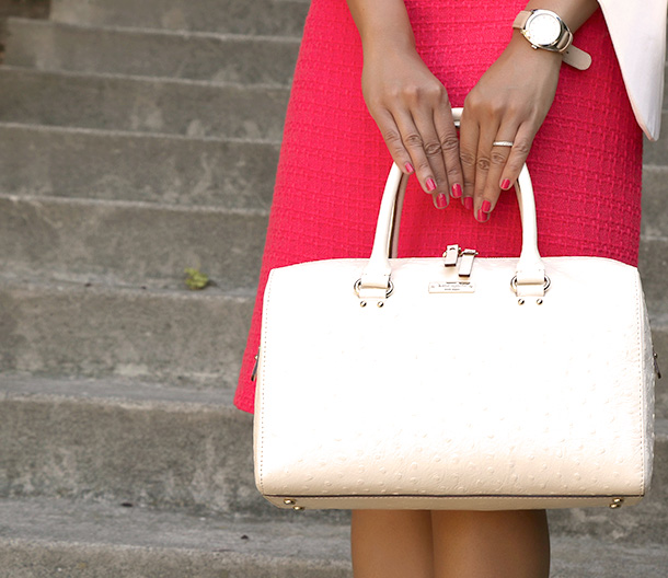 Kate Spade white purse