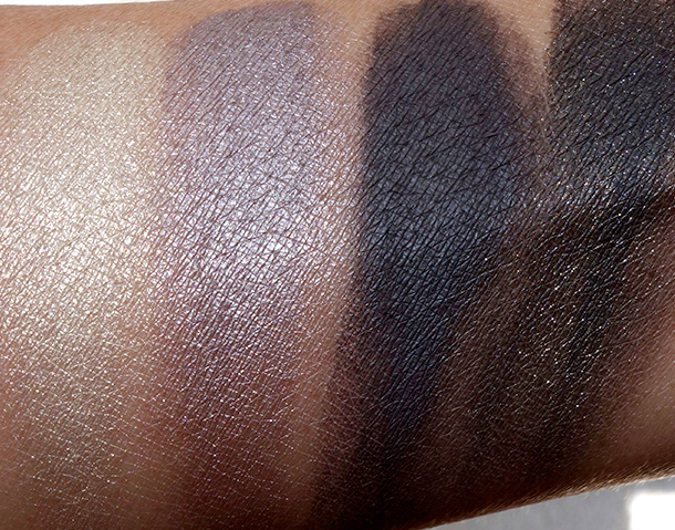 MAC A Novel Romance Quad Swatches
