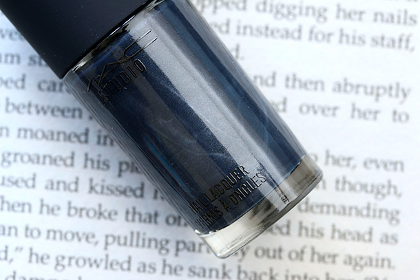 MAC Studio Nail Lacquer in Midnight Sky
