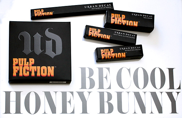 Urban Decay Pulp Fiction Collection boxes