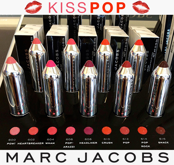Marc Jacobs Kiss Pop Color Sticks