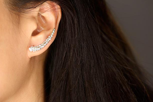 The Kristin Perry Bear Claw Ear Cuff