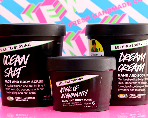 New Lush Self-Preserving Products