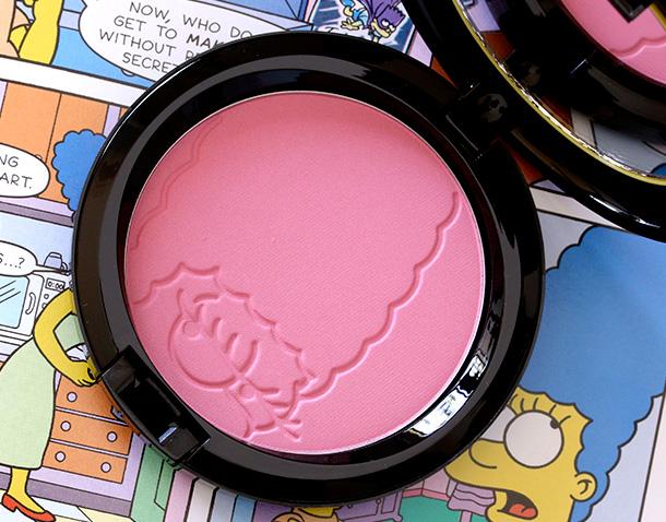 MAC Simpsons Powder Blush in Pink Sprinkles ($24 U.S.;$28.50 CAD)