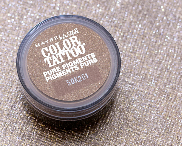 Maybelline Downtown Brown ColorTattoo Pure Purigment Eyeshadow