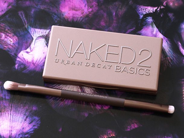 The Urban Decay Naked2 Basics Palette and the Naked Basics Double-Ended Brush