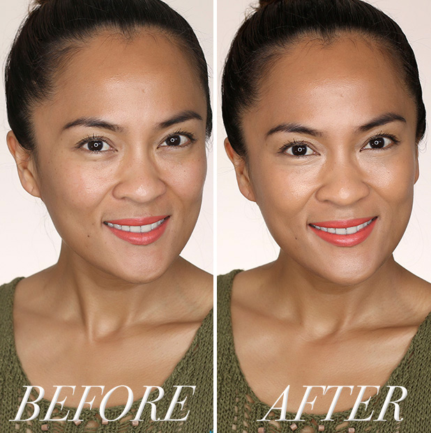 Wearing MAC Master Concealer: Before and After