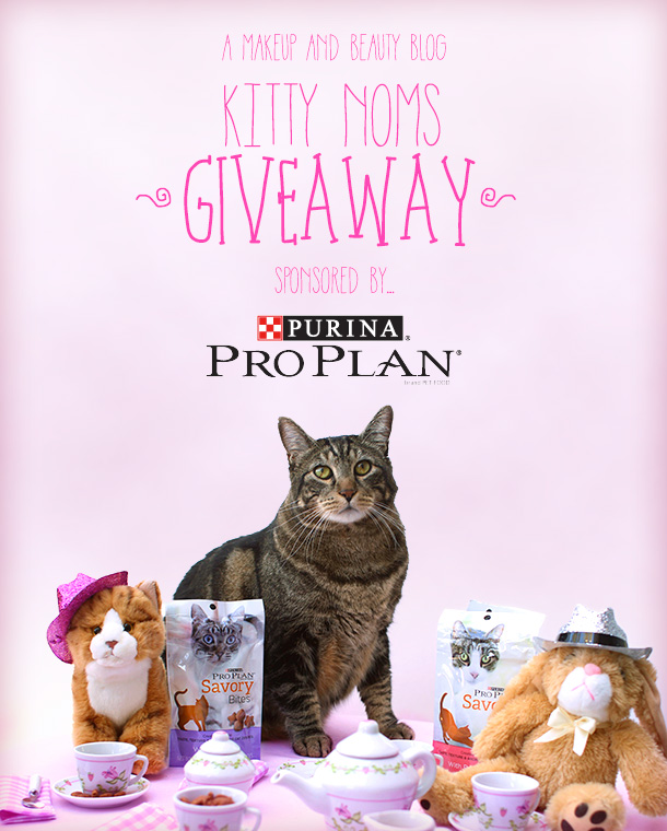Enter to win cat snacks from Purina Pro Plan