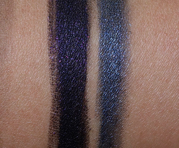 MAC Rocky Horror Greasepaint Stick Swatches in Black and B
