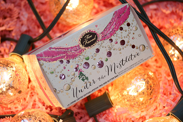 Too Faced Under the Mistletoe Box