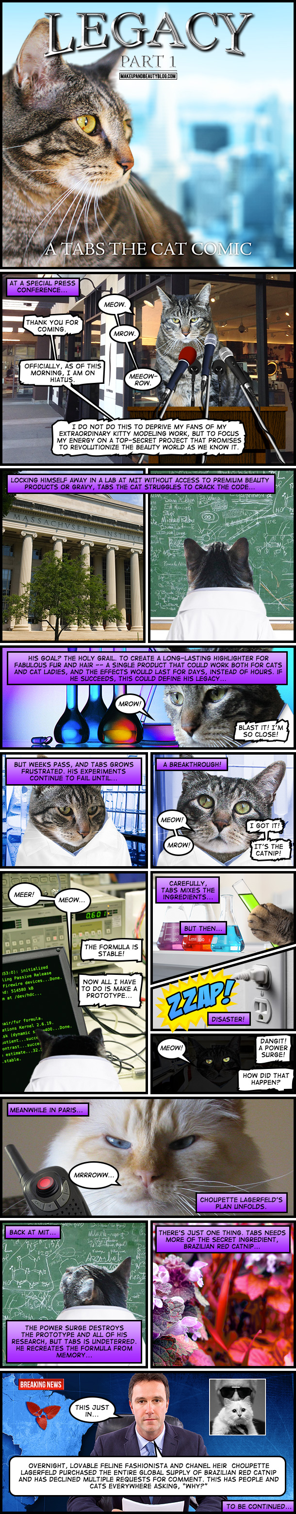 Legacy: A Tabs the Cat Comic