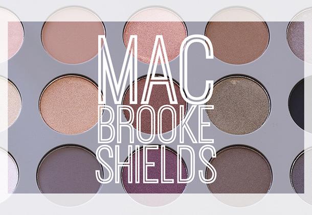 MAC Brooke Shields Gravitas Palette