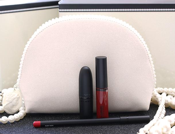 MAC Keepsakes Red Lip Bag, $39.50