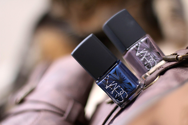 NARS Nail Polishes in Barents Sea (left) and Algonquin (right)