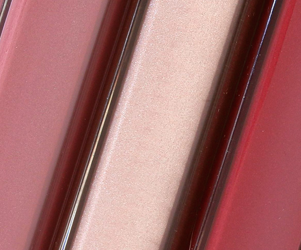 NARS Lipglosses from the Laced With Edge Holiday collection from the left: Corsica, Soleil D'Orient and Burning Love