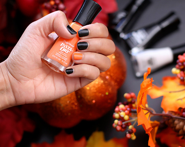 Sally Hansen Insta-Dri Nail Color in Pumpkin Queen