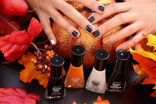 Sally Hansen Insta-Dri Nail Color Halloween Shades