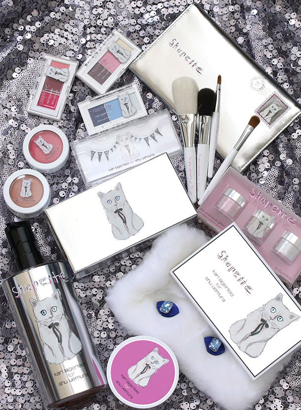 Shu Uemura Shupette by Karl Lagerfeld collection