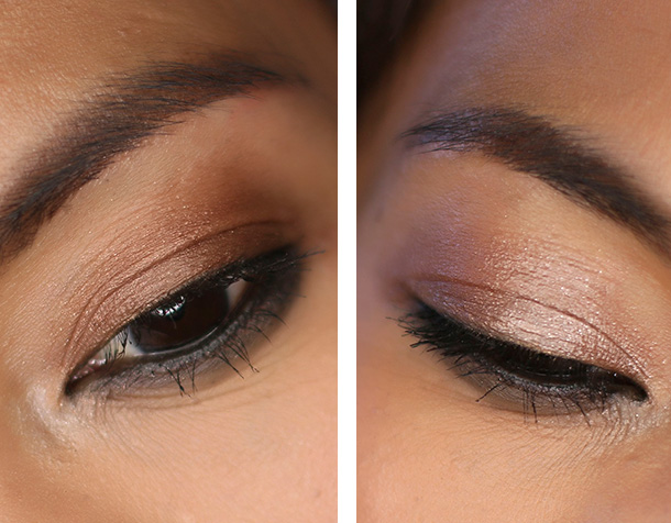 Tom Ford Cream Color for Eyes in Spice (left) and Platinum (right)