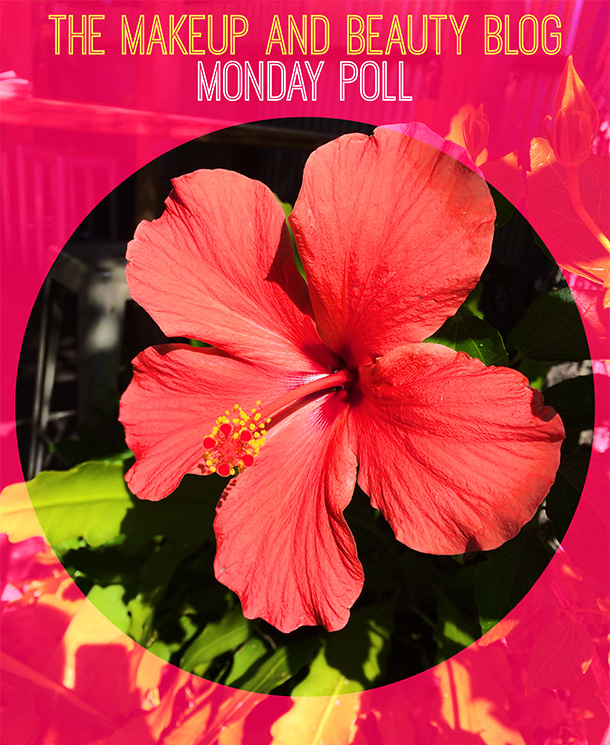 The Makeup and Beauty Blog Monday Poll for October 6, 2014