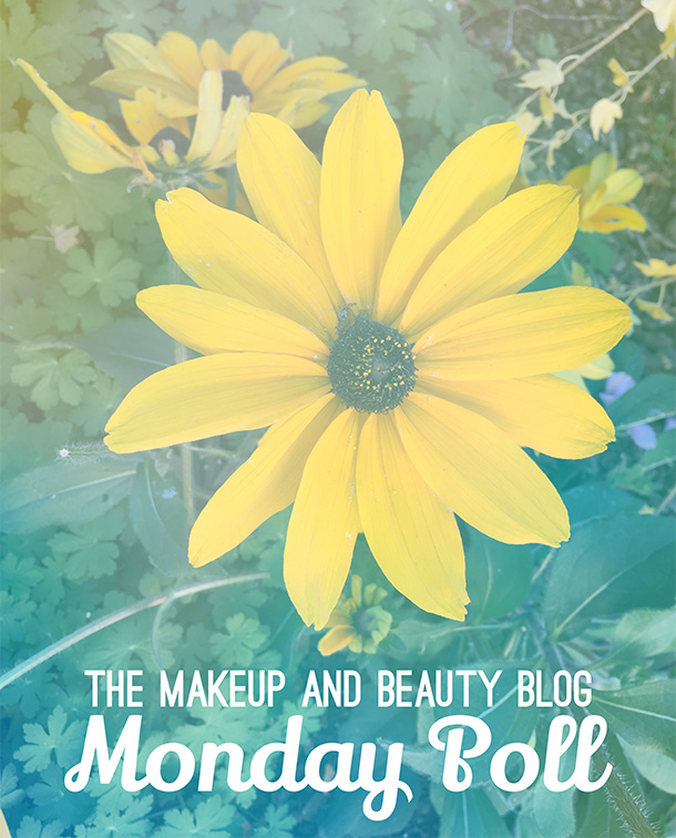 The Makeup and Beauty Blog Monday Poll for November 10, 2014