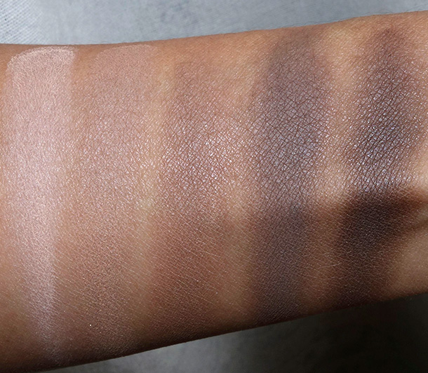 BECCA Ombre Nudes Swatches