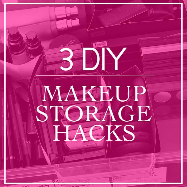 DIY Makeup Storage Hacks: 3 Ways to Repurpose Your Packaging