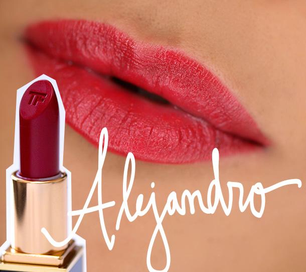 Tom Ford Lips & Boys Alejandro Swatch