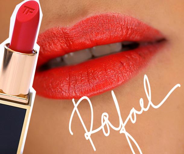 Tom Ford Lips & Boys Rafael Swatch