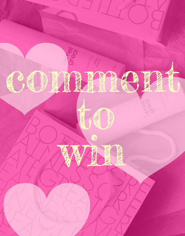 Comment to Win $152 in Fragrances From i smell great
