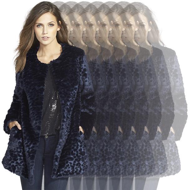 Sam Edelman Leopard Coat