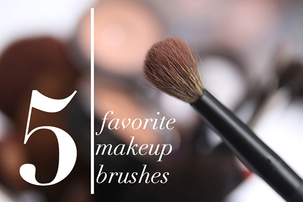 What Are Your 5 Favorite Makeup Brushes Right Now?