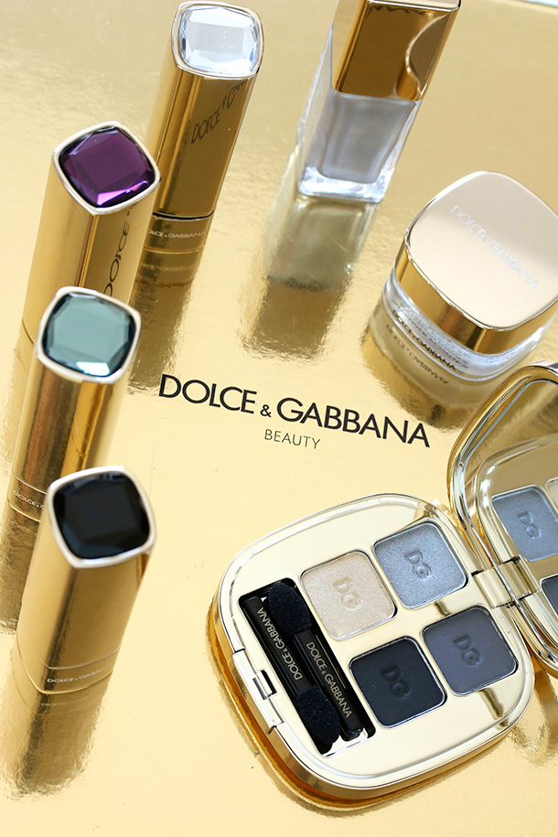 The seven-piece Dolce & Gabbana Shimmer Glow the Winter Palette collection