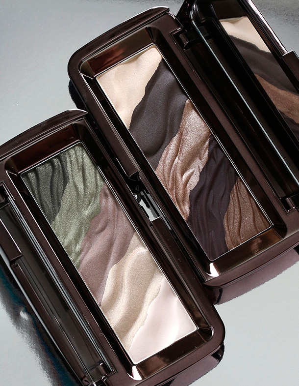 Hourglass Modernist Eyeshadow Palettes in Color Field (left) and Obscura (right)