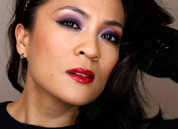 A Look With Vivacious Violet Eyes and Righteous Red ...