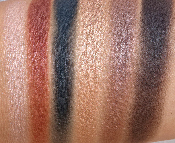 NARS Eyeshadow Palette in Yeux Irresistible Swatches
