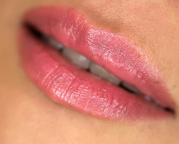 Urban Decay Sheer Revolution Lipstick in Sheer Streak, a sheer coral-pink
