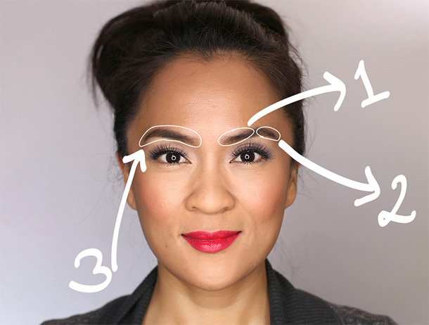 3 Steps To Full, Natural-Looking Brows