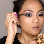 To tie the entire eye look together, I thickened my upper and lower lashes with three layers of Covergirl Fall Lash Bloom by Lashblast Mascara in Black.