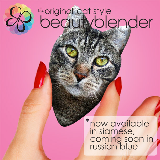 Tabs for the Cat Style Beautyblender